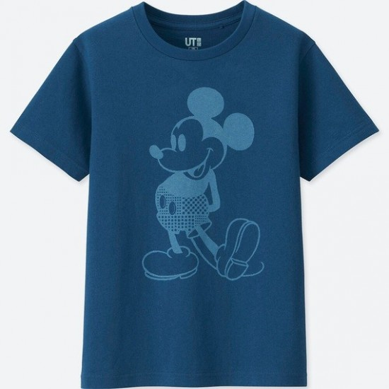 Новая линейка UNIQLO — Mickey Blue